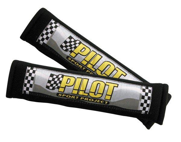 Pilot seatbelt pads belt cover black