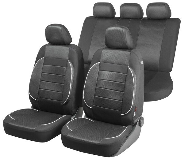 ZIPP IT Premium Rover - housses pour sièges de voiture avec système de fermeture éclair