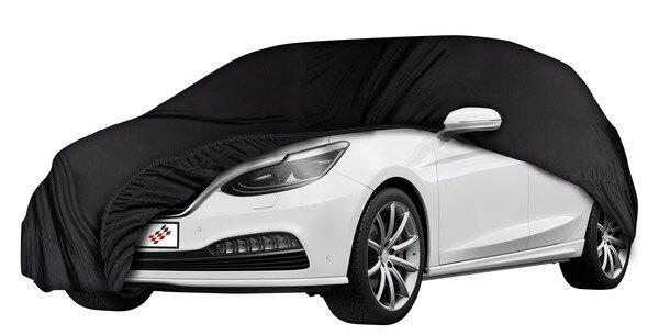 Car tarpaulin Indoor Soft size 4 black