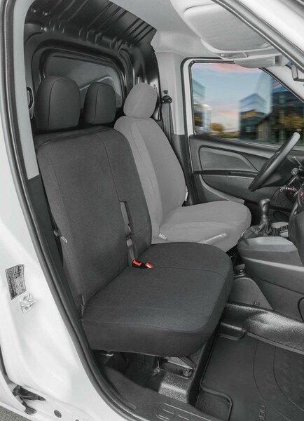 Autoschonbezug Transporter aus Stoff für Ford Transit Connect, Doppelbank vorne
