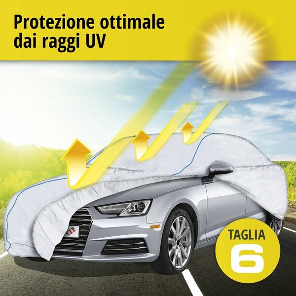 Telone protettivo Sun Reflect dimensioni 6 argento