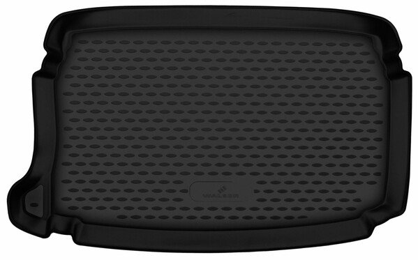 Tapis de Coffre pour Seat Ibiza V hatchback (KJ1) plancher de chargement inférieur année 01/2017-aujourd'hui