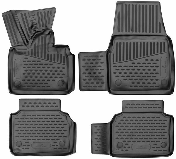 XTR rubber mats for BMW i3 year 2013 - Today