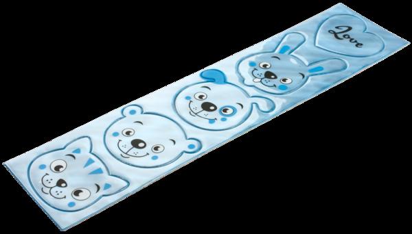 Reflektierende Sticker Tiere blau