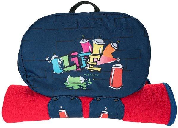 Backpack Organizer Graffiti blue