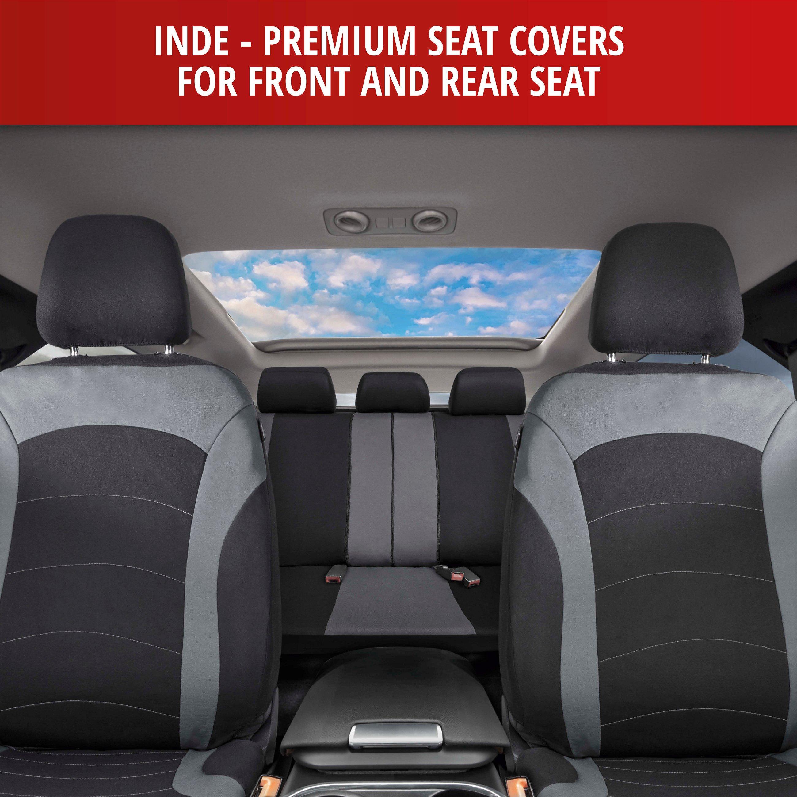 Universal Autositzbezüge für BMW Serie 1 Grau Sitzbezug Autositz Schonbezüge Set