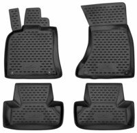 Rubber mats XTR for Audi Q5 Year of construction 2009 - 2017