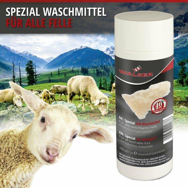 Spezial Waschmittel für Lammfell