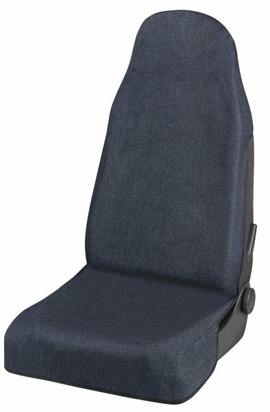 Car Seat cover jeans blue for a front seat