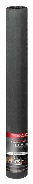 Automatte Saturn feinripp 200x100 cm universal schwarz