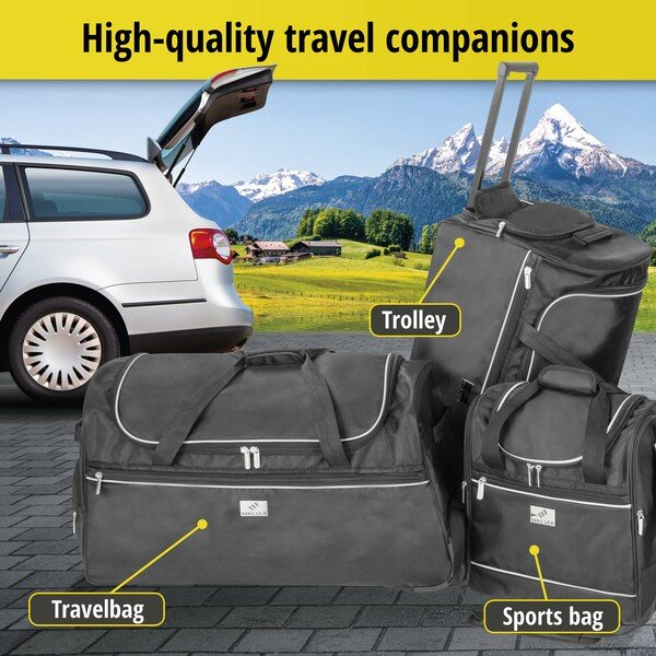 Carbags travel bag 35x20x40cm black