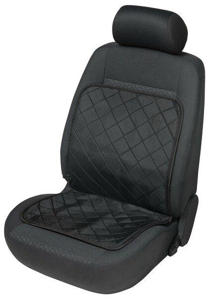 Coussin chauffant pour siège de voiture EcoHeat noir