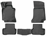 XTR rubber mats for Mercedes-Benz C-Class (W205) year 07/2013 - Today, C-Class (S205) year 09/2014 - Today