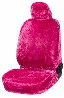 Autositzbezug Teddy pink