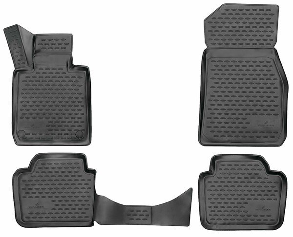 XTR rubber mats for BMW 3 (F30) year 2011 - 2018