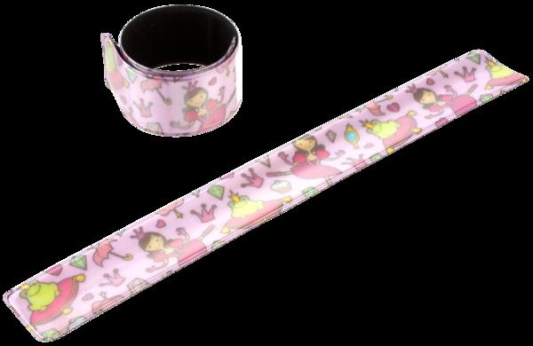 Klackband Prinzessin rosa 3 x 22,5 cm