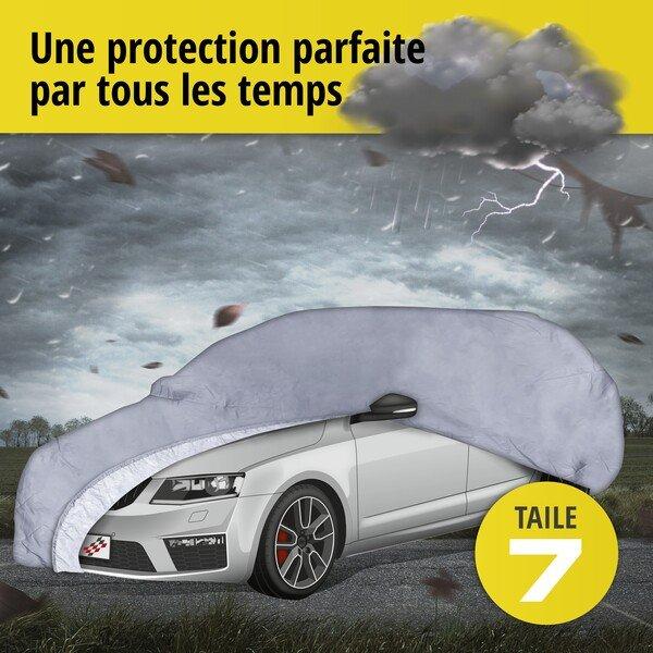 Bâche pour voiture All Weather Premium taille 7 grise