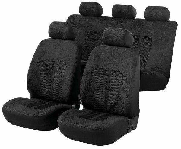 ZIPP IT Premium Velvet Autositzbezüge mit Reissverschluss System