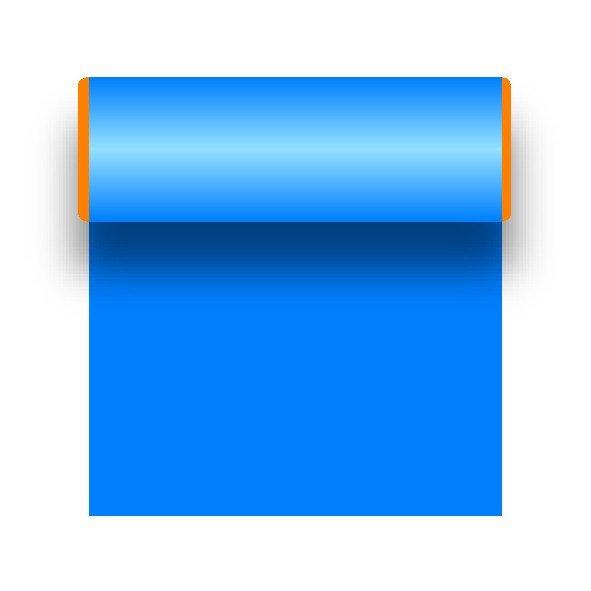 Car decorative film adhesive film blue 25 x 500 cm
