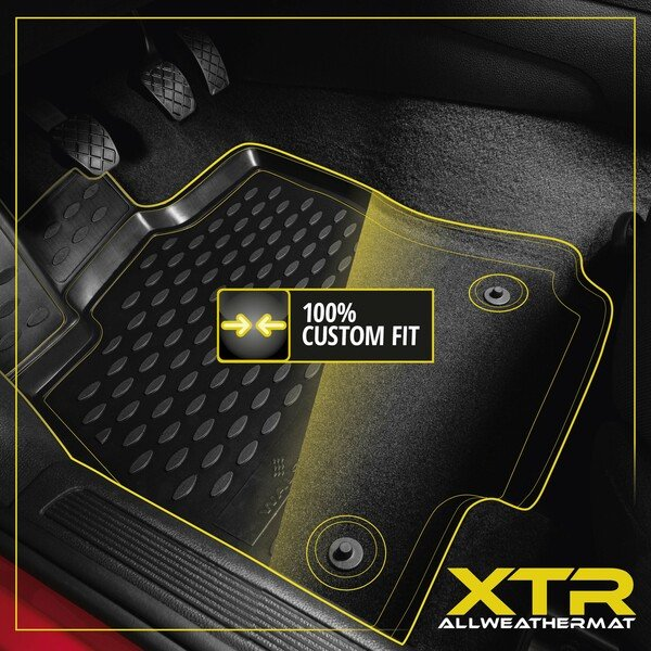XTR rubber mats for Ford Focus III year 07/2010 - Today