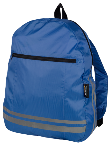 Reflecitve Backpack blue