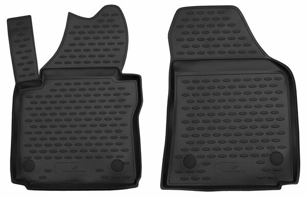 XTR rubber mats for VW Caddy III year 03/2004-05/2015