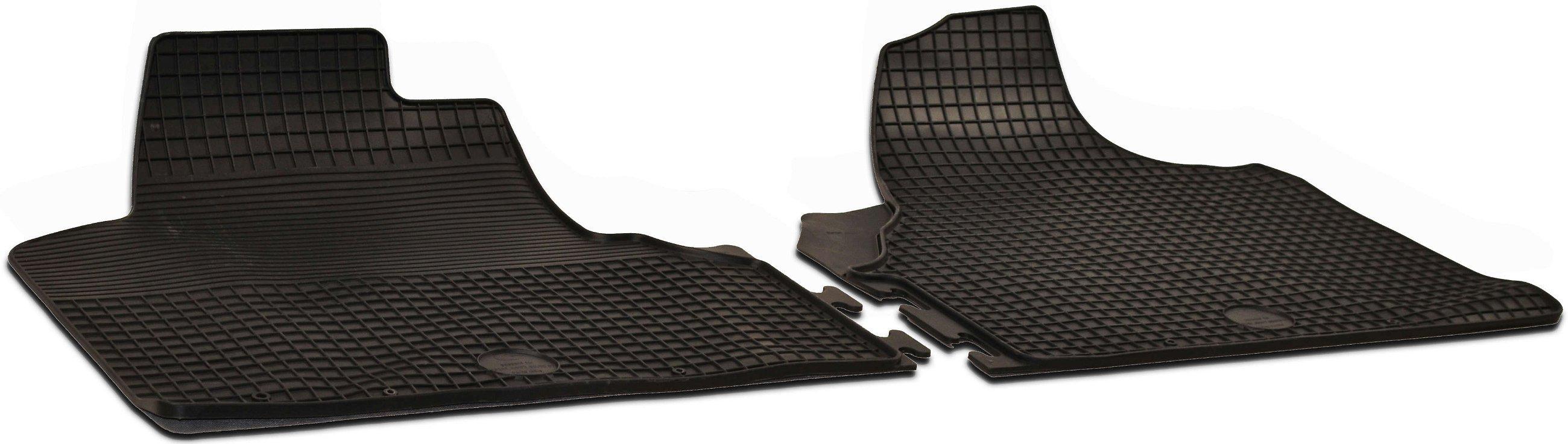 Gummi-Fußmatten+Kofferraumwanne CITROEN NEMO 2007-heute