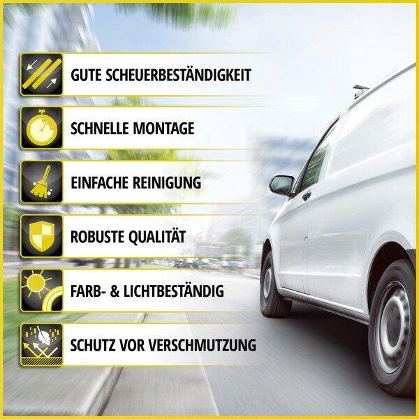 Autoschonbezug Transporter aus Kunstleder für VW T5, Einzelsitz hinten