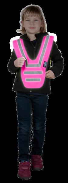 Neon collar pink