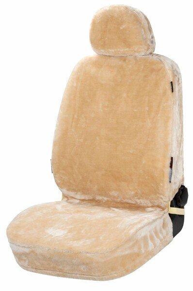 Autositzbezug Teddy aus Kunstfell vegan beige