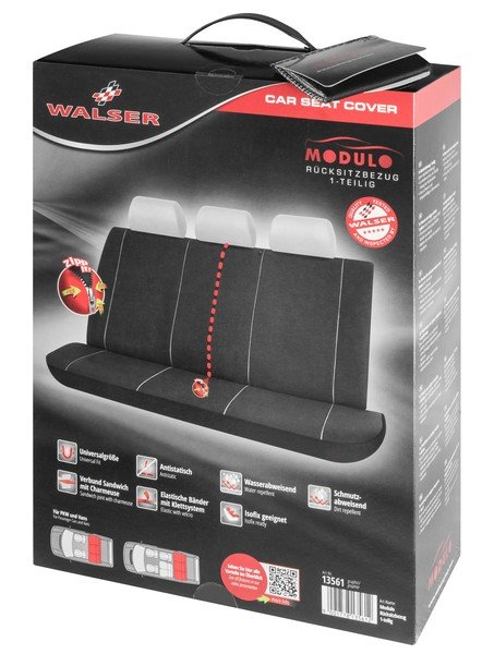 Car Seat cover Modulo for rear seat bench 3 parts