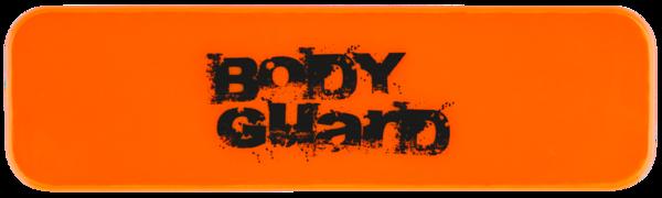 Neon sticker orange 70x20 mm