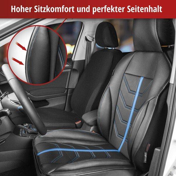 PKW Sitzauflage Kimi schwarz blau