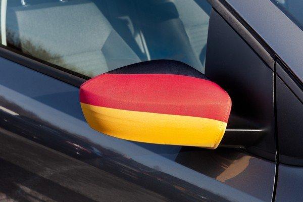 Rétroviseur latéral drapeau Allemagne