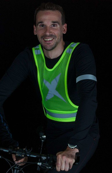 Gilet de course et de loisir jaune L/XL