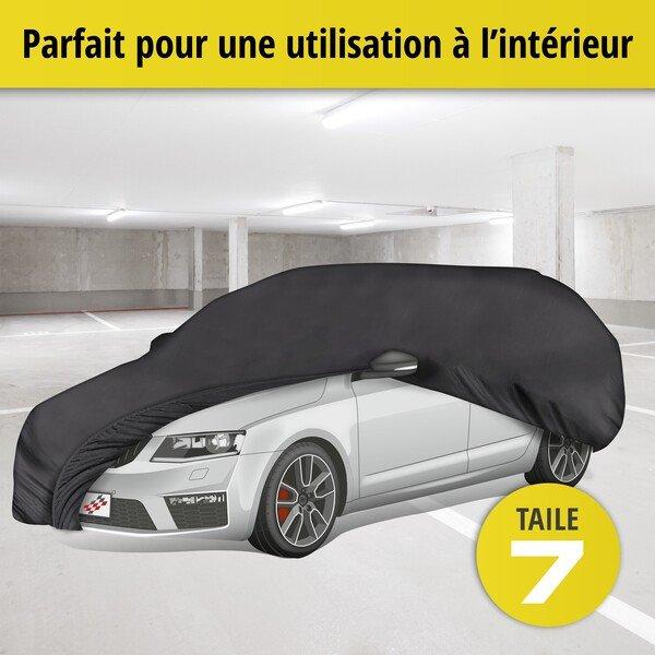 Bâche pour voiture d'intérieur Soft size 7 noir