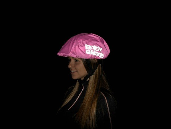 Helmüberzug pink