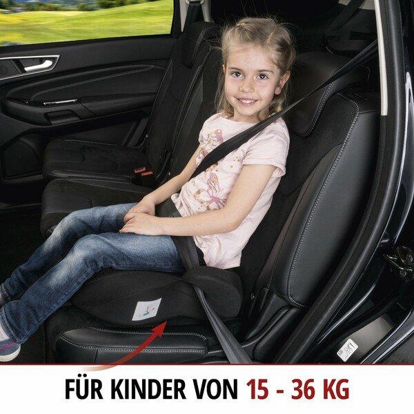 Kindersitzerhöhung Lino schwarz/schwarz