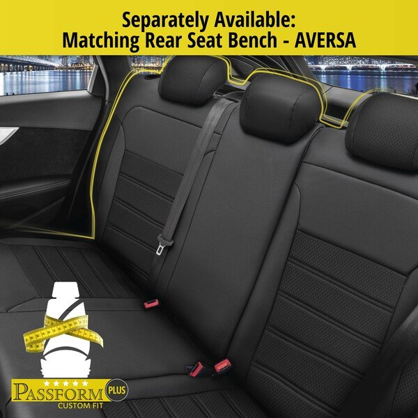 Seat cover Aversa for Renault Clio III BR0/1, CR0/1 year 01/2005-12/2014, 2 seat covers for normal seats