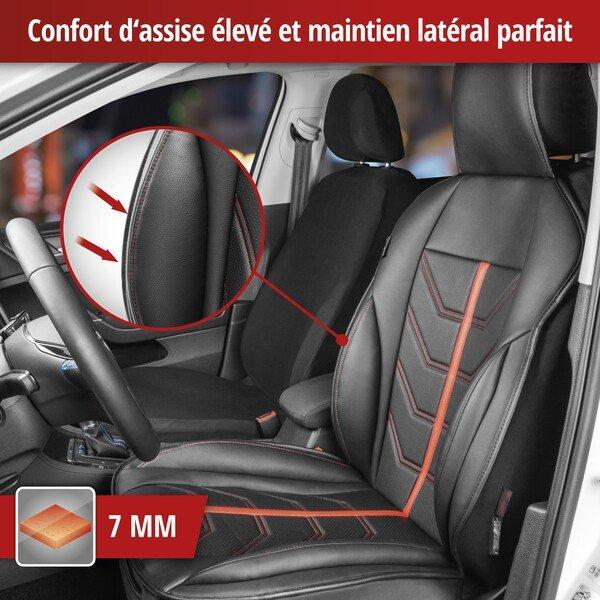 Housses de sièges Kimi rouge noir