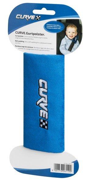 Curve Mini-Gurtpolster Gurtschoner blau ab 3-4 Jahre