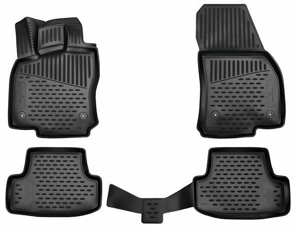 XTR rubber mats for VW T-Roc year 2017 - Today