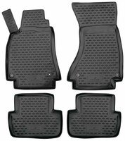 Rubber mats XTR for Audi A4 (B8) year of construction 2007 - 2015