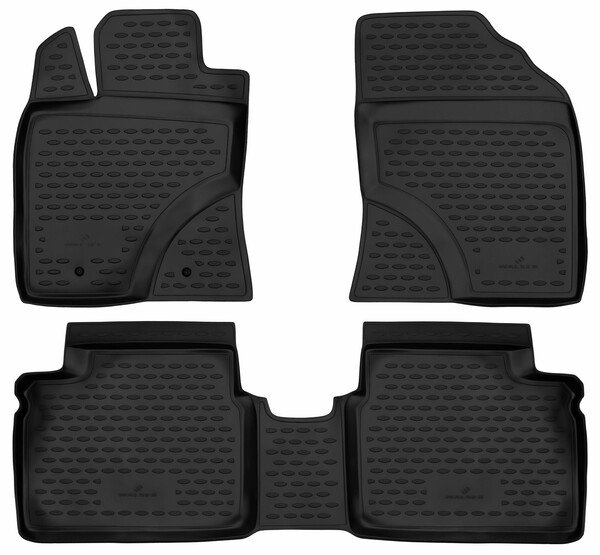 XTR rubber mats for Toyota Avensis Kombi year 02/2009 - 10/2018, Avensis notchback year 11/2008 - 10/2018