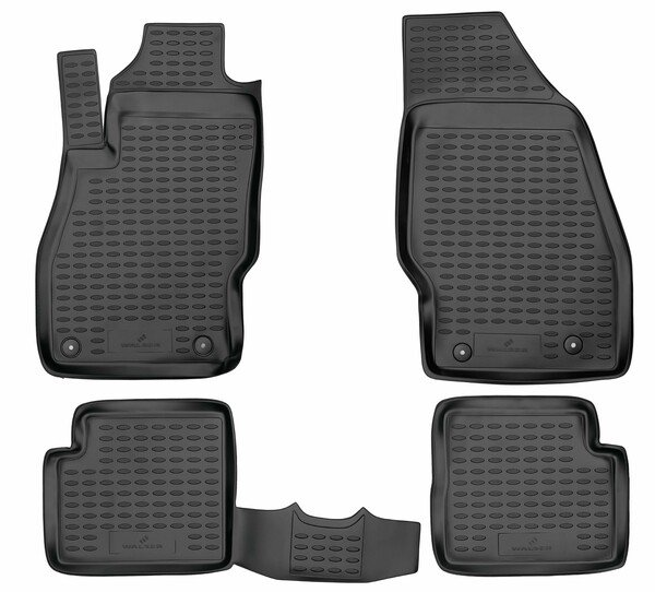 XTR rubber mats for Opel Corsa E year 2014 - Today