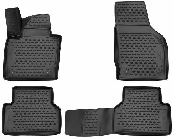 XTR rubber mats for Audi Q3 year Facelift 2015 - 10/2018