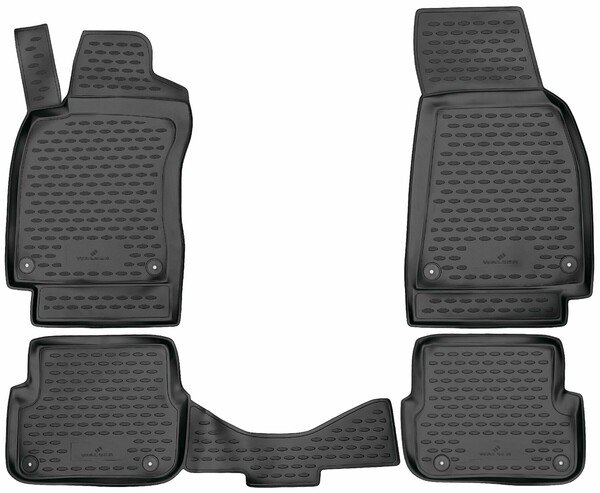 XTR rubber mats for Audi A6 year 04/2004 - 08/2011, A6 Avant year 11/2004 - 08/2011, A6 Allroad 03/2006 - 08/2011