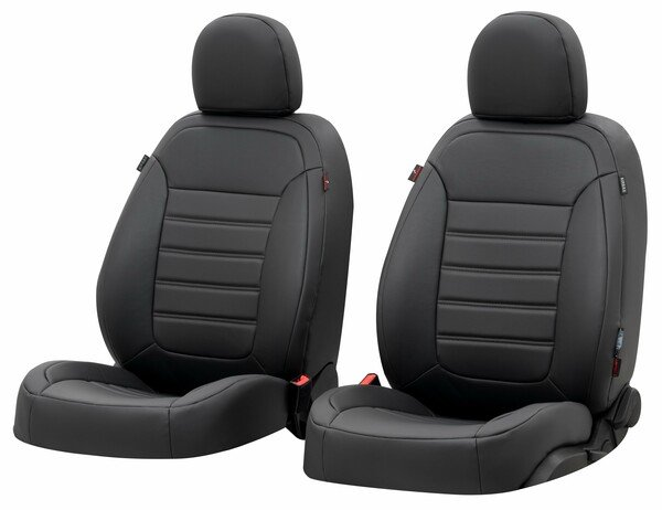 Seat cover Robusto for Ford Focus III Turnier year 07/2010-Today, 2 seat covers for normal seats Titanium