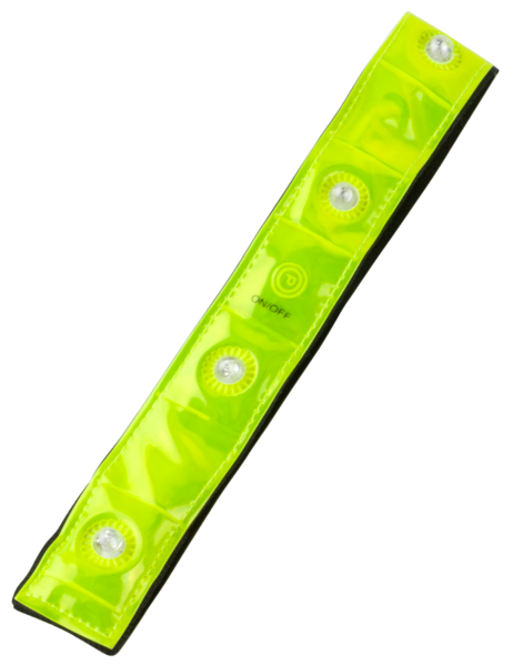 Soft LED Armband gelb
