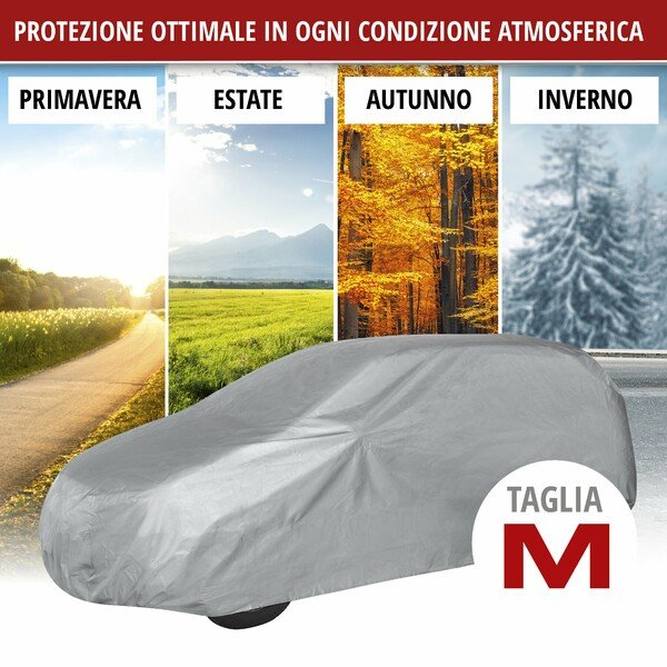 Telone protettivo All Weather Light SUV full garage dimensioni M grigio chiaro